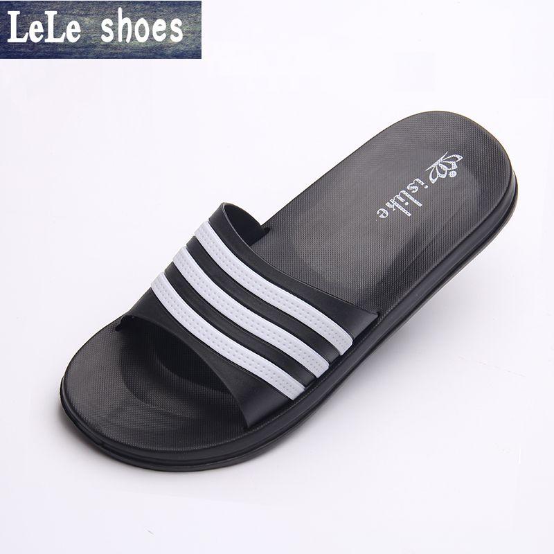 Hot Men Women Size Home Slippers Bathroom Shoes Rubber Slipper Indoor Pantofole Terlik Uni Soft Free Shipping