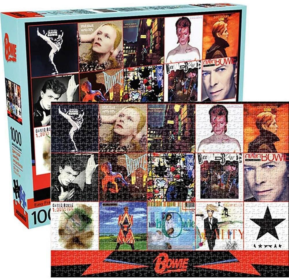 David Bowie Albums 1000 Piece Jigsaw Puzzle David Bowie Bowie 1000 Piece Jigsaw Puzzles