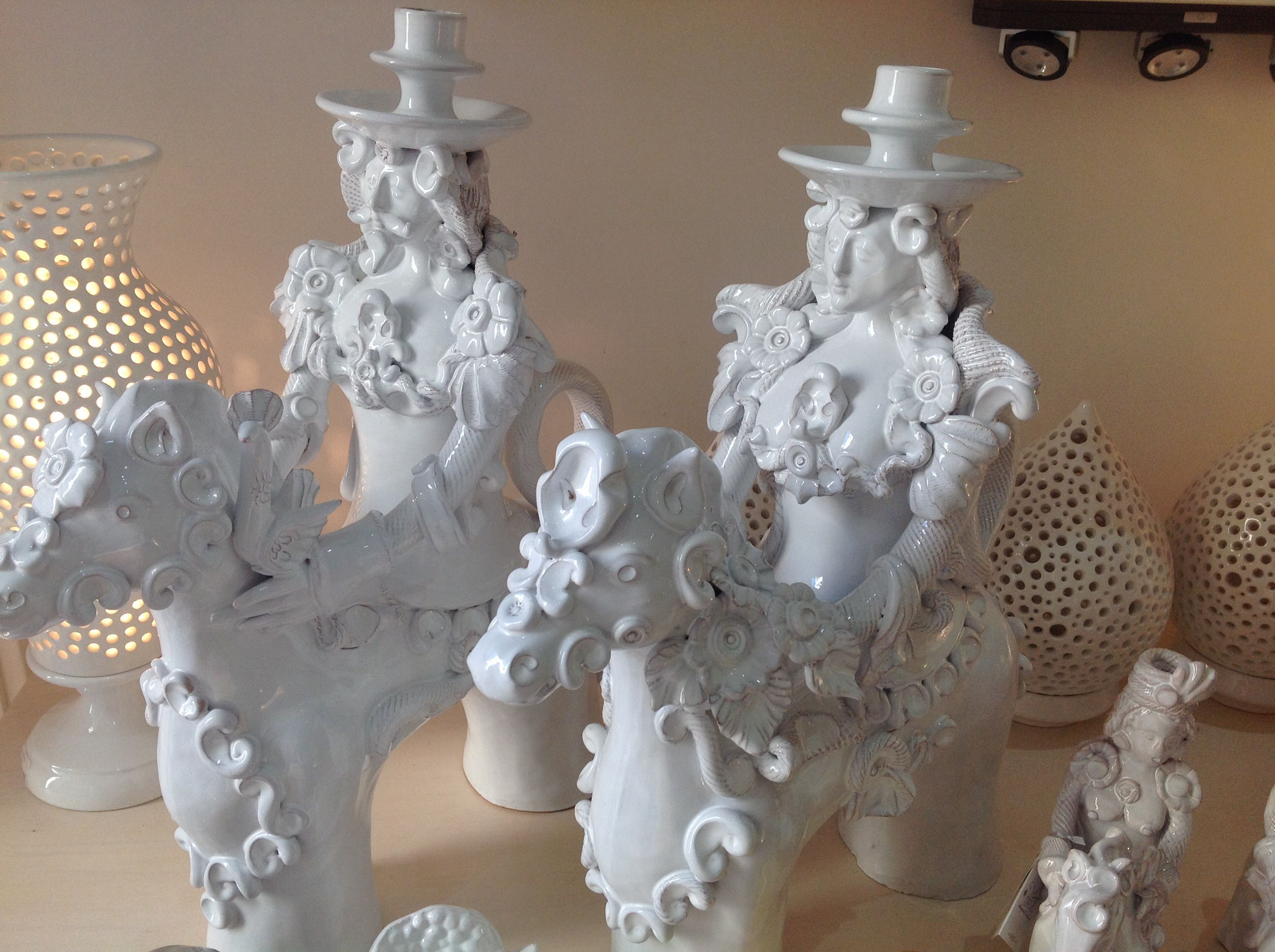 Cavalieri in love with puglia pottery art italian art e pottery