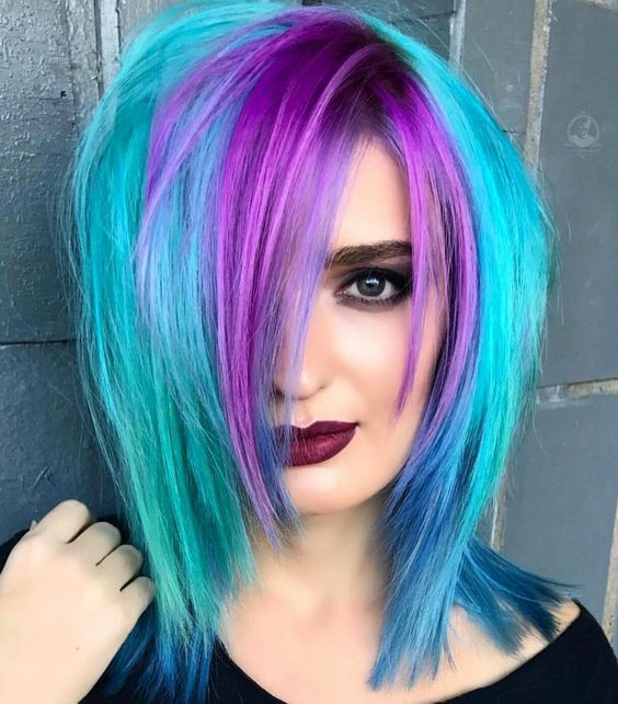 Photo of 2019 Optimal flow of power Exotic hair color ideas for hot and chic celebrities -…