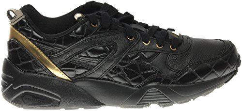 1a609c11a762 Puma - R698 Exotic Women s - Black-Gold (8.5) - Puma sneakers for women  ( Amazon Partner-Link)