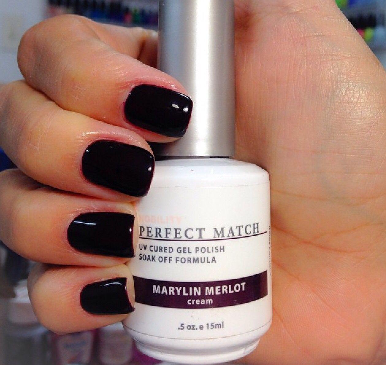 Love this dark wine nail color   Nails   Pinterest   Wine nails