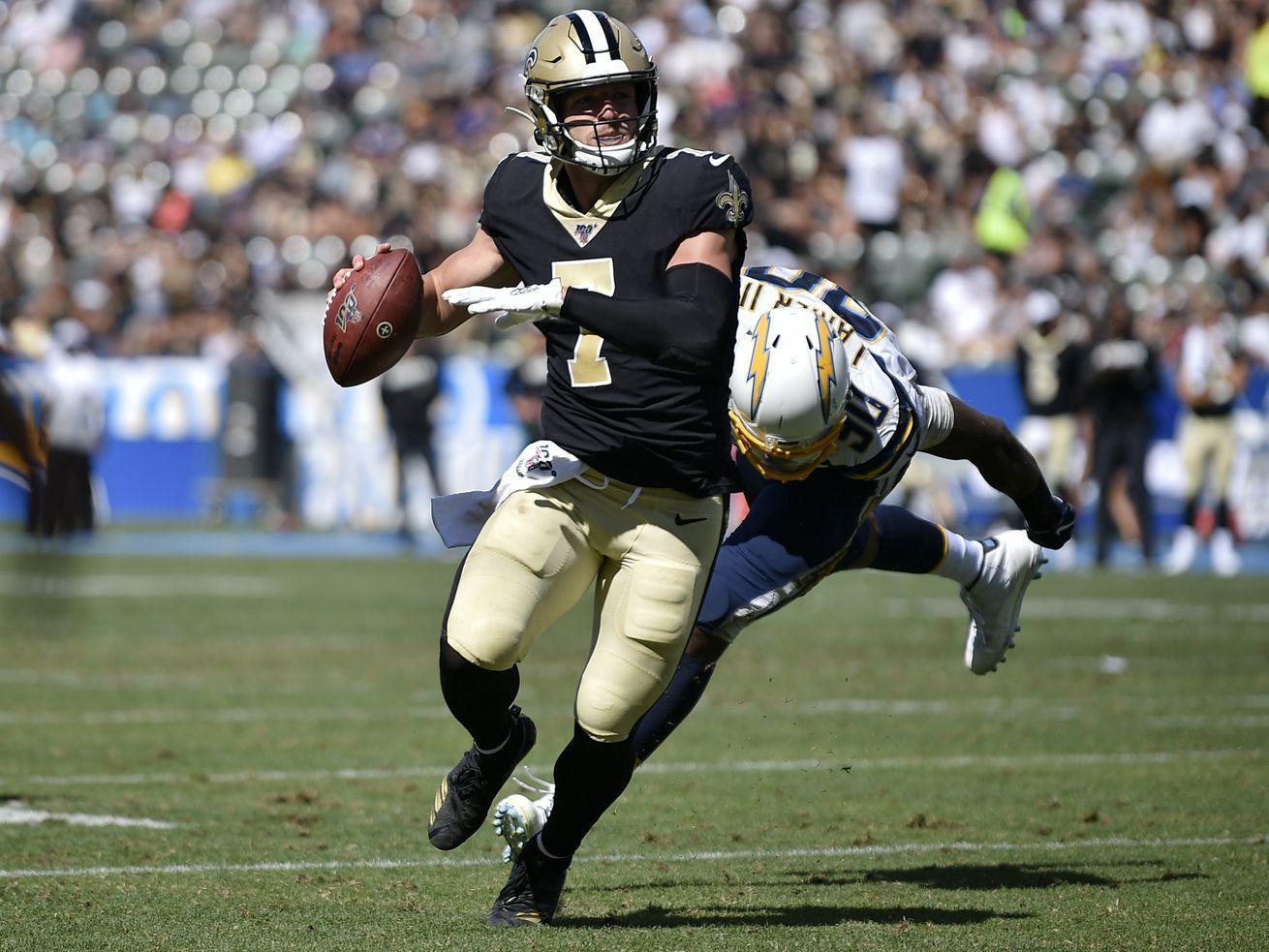 'A tight end, receiver, a specialist, a quarterback' Why