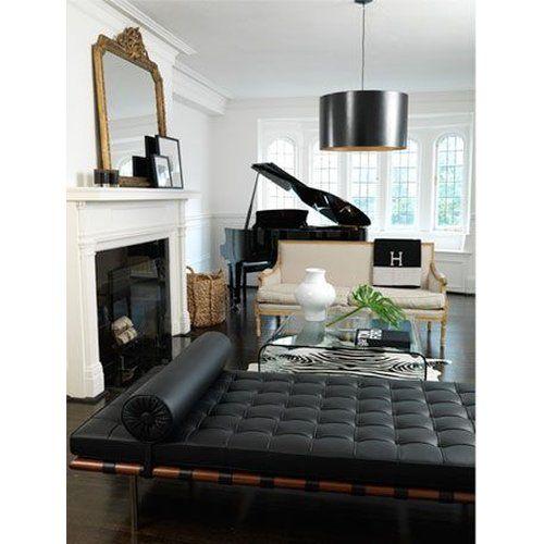 Tagesbett f r ein kleines nickerchen daybed von mies van der rohe tagesbetten pinterest - Wohnzimmer romantisch einrichten ...