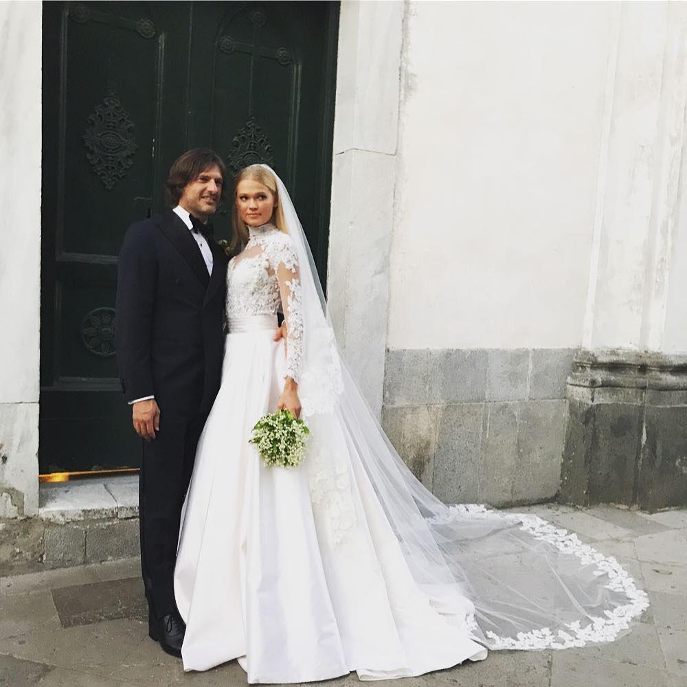 Victoria\'s Secret Model Vita Sidorkina\'s Wedding | MyDomaine ...