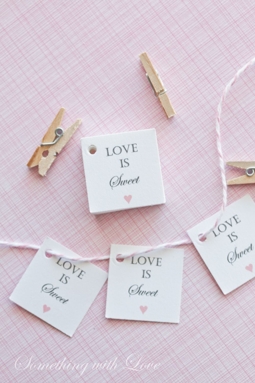 The cutest mini honey jar favor tags!! Perfect for a spring, summer ...