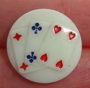 playing card button