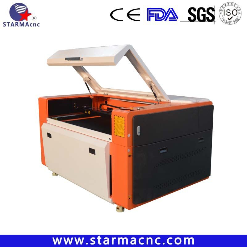 1390 Hot Sales Wood Acrylic Plastic Fabric Cheap Co2 Laser Cutter Machine 150w Cost Applicable Materials Double