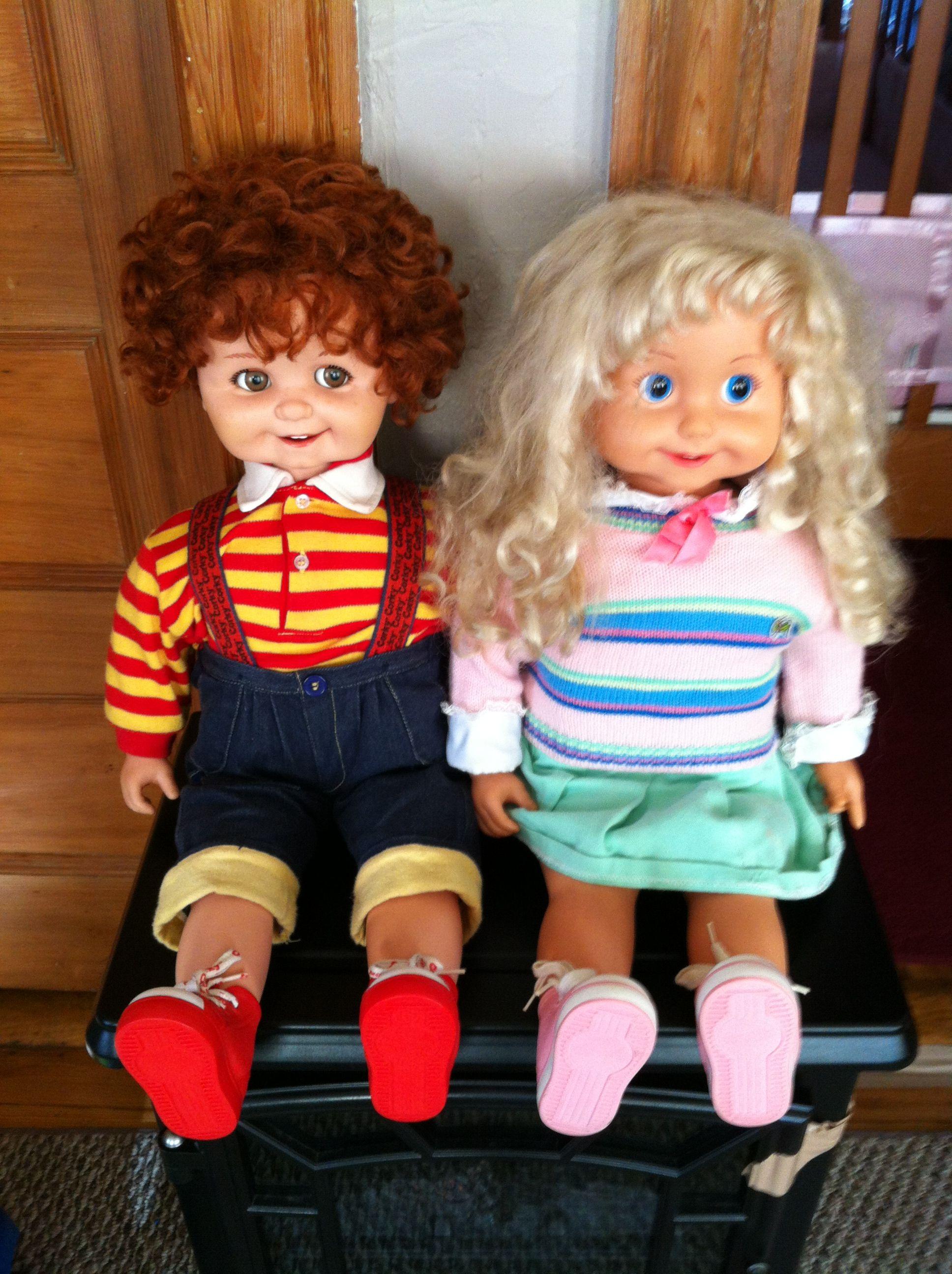 Playmates Corky And Cricket Dolls Happy Memories Childhood Memories Vinyl Dolls Dolls