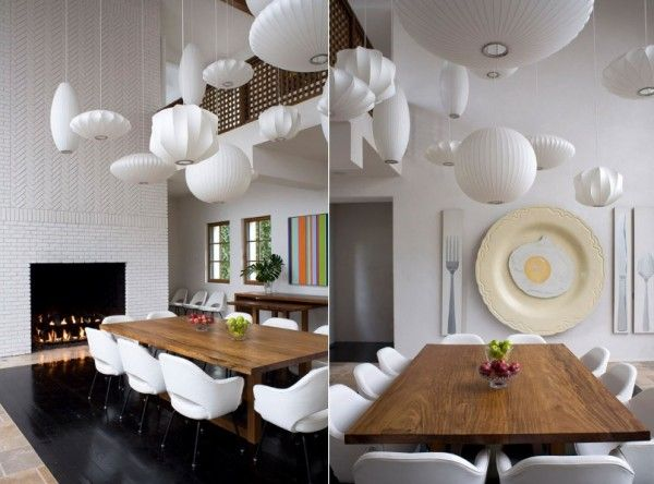 Tailored Designer Lighting SolutionsTrade Commercial Accounts Available Melbourne Cluster White Pendants In Dining Room