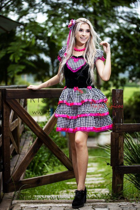 Photo of Xadrez Marie kjole – Festa Junina Caipira Chic