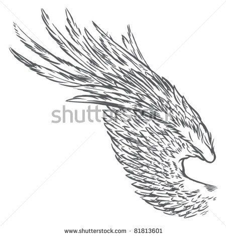 Eagle Wings Drawings Eagle Wings Drawing Wings