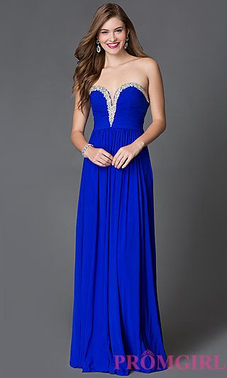 e51b01c159282 Beaded-Sweetheart Strapless Prom Gown JVN by Jovani   Prom dresses