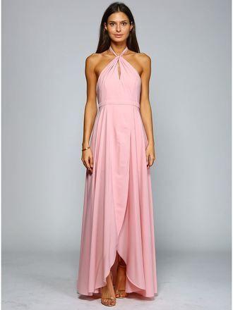 Abendkleid Ruby, rosa v | Abiball kleider lang, Abendkleid ...