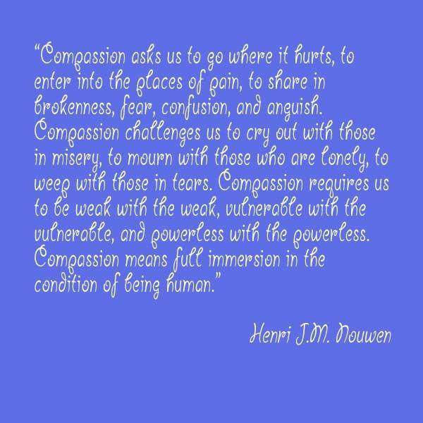 Henri Nouwen Quotes Compassion | Henri J.M. Nouwen on ...