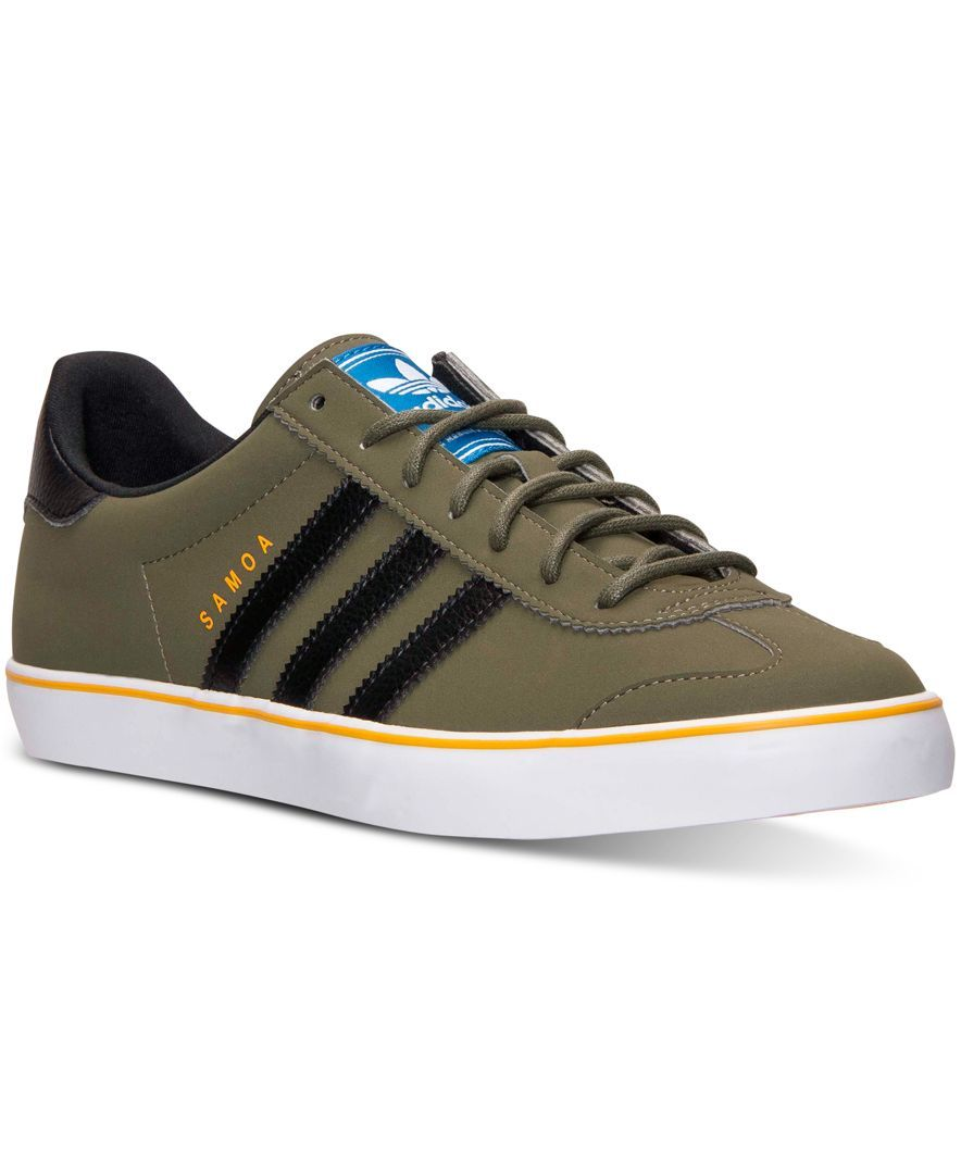 buy online 6d1a8 7453e adidas Men s Samoa Vulc Casual Sneakers from Finish Line