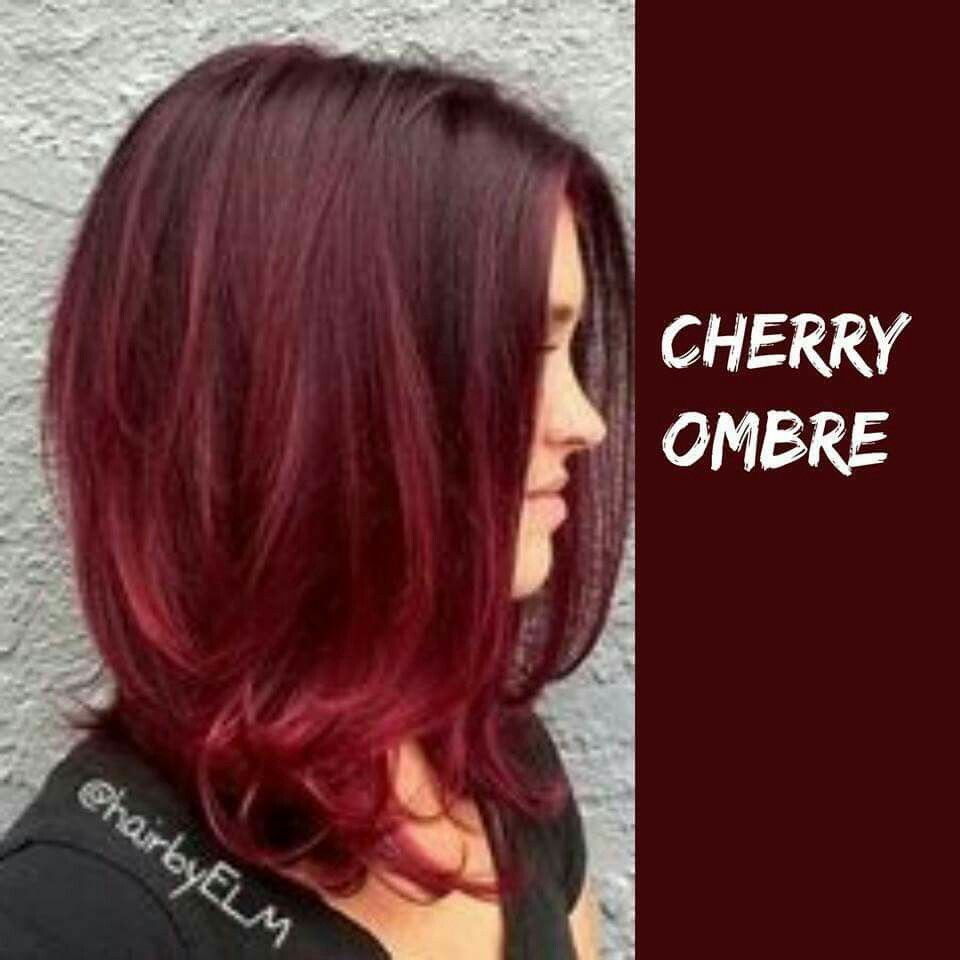 Cherry ombre | Hair for the Whole Family | Pinterest | Ombre ...