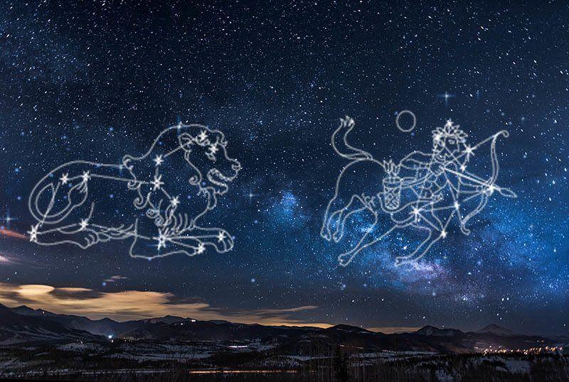 Paar Sternzeichen