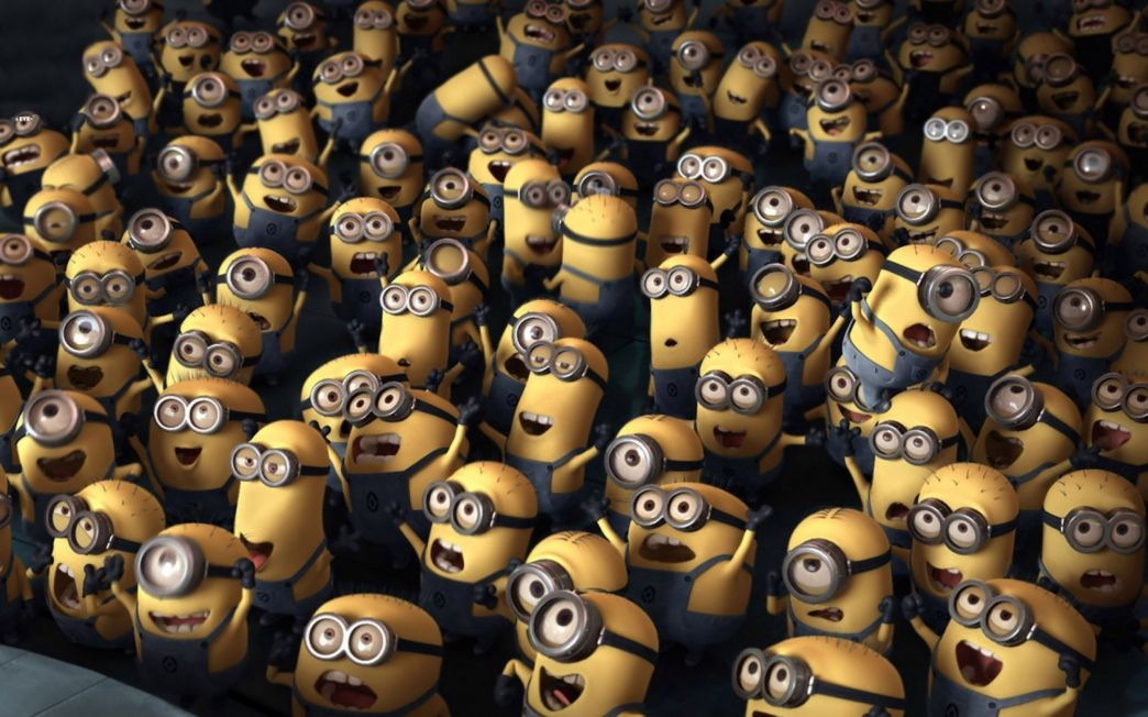 Despicable Me Wallpaper For Bedroom