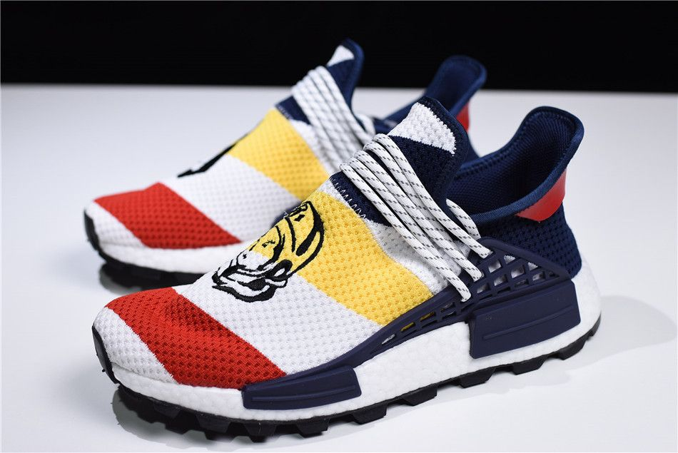30477720f BBC x Pharrell x adidas NMD Human Race Trail Heart Mind F99766 in ...