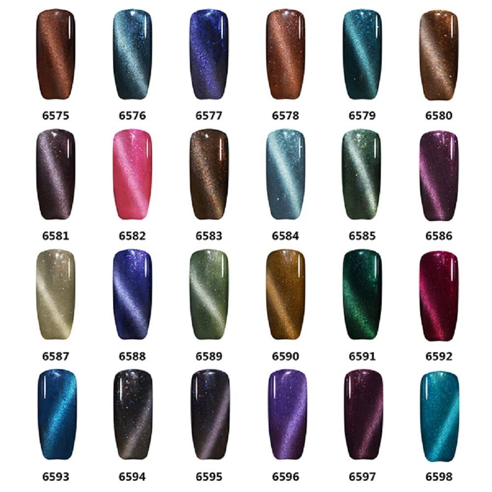12Ml Changing Color Soak Off Uv Varnish Long-Lasting Nail Gel Polish ...