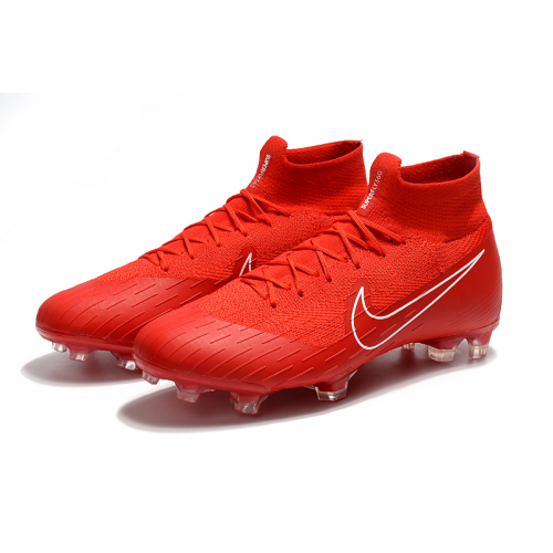 Nk Mercurial Superfly Vi 360 Elite Fg Soccer Cleats Red Cool Football Boots Soccer Cleats Girls Soccer Cleats