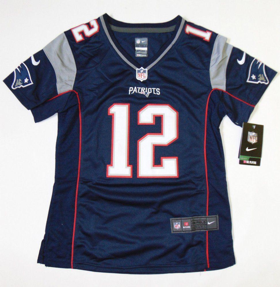 Camisa New England Patriots - 12 Tom Brady - Feminina - PRONTA ENTREGA 781636c0b5f97