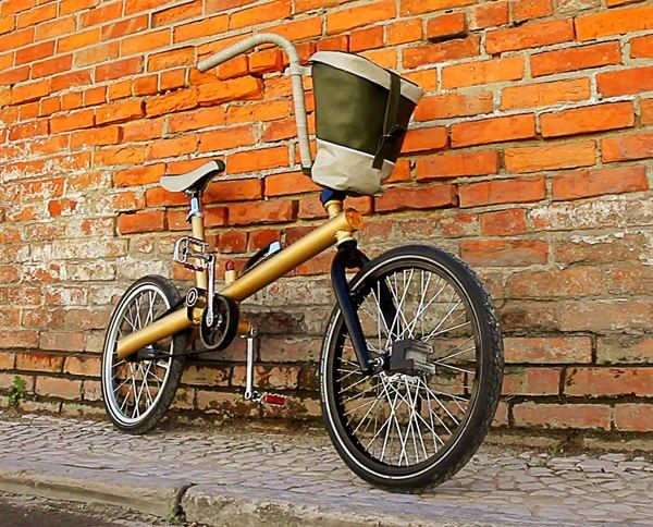 Bike made from recycled car parts...very cool! {good magazine}