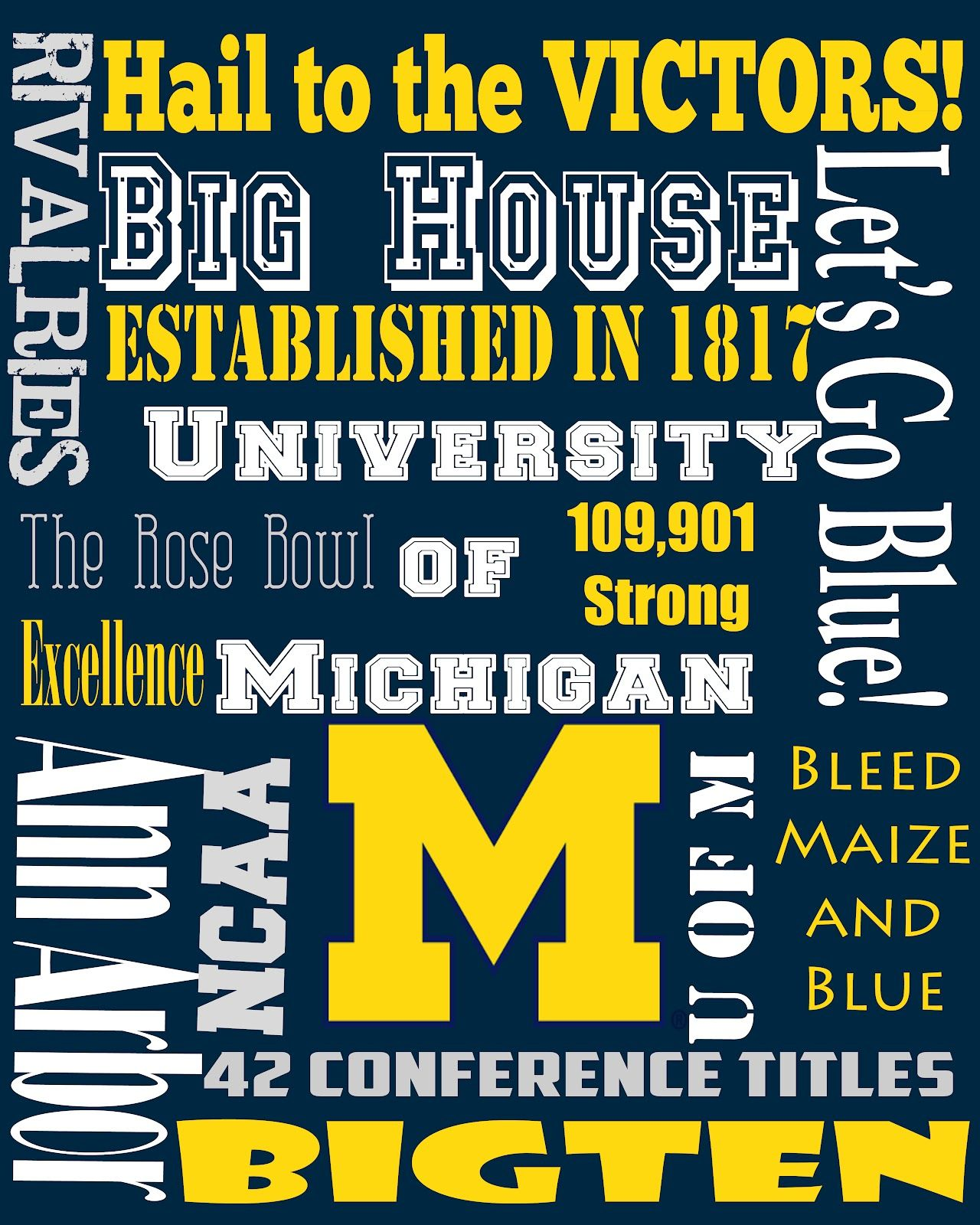 This is a photo of Luscious Michigan Football Schedule Printable