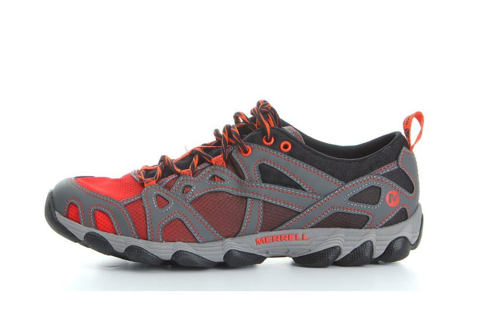 Merrell Hurricane Lace Hydro Mens Blue Water Shoes Walking Trainers Sports Shoes
