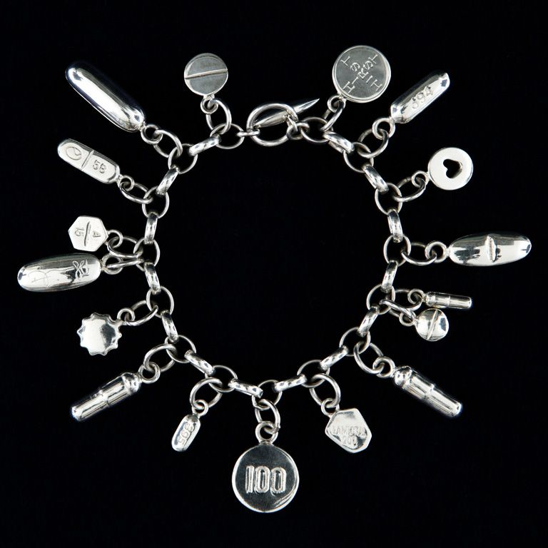 nana meaningful charm lisa bracelet bangle angel words silver