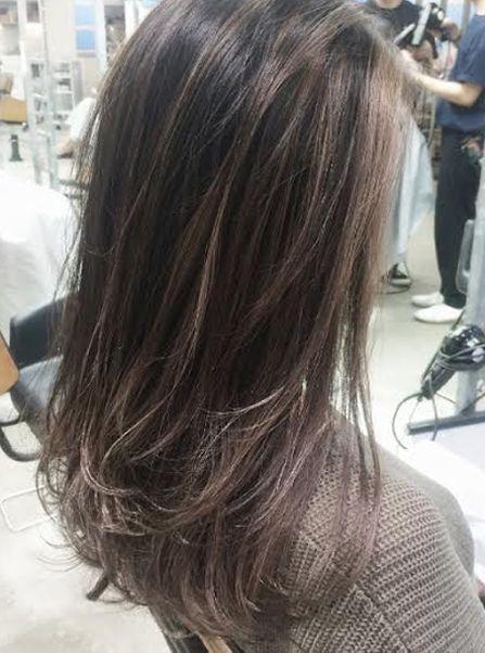 Image Result For ハイライト 黒髪に レイヤーカットヘア ヘアスタイル