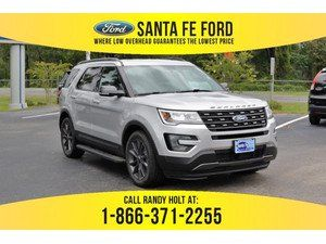 2017 Silver Ford Explorer Xlt 373821 With Images Ford Explorer