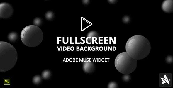 Free Download FullScreen Video Background Widget for Adobe
