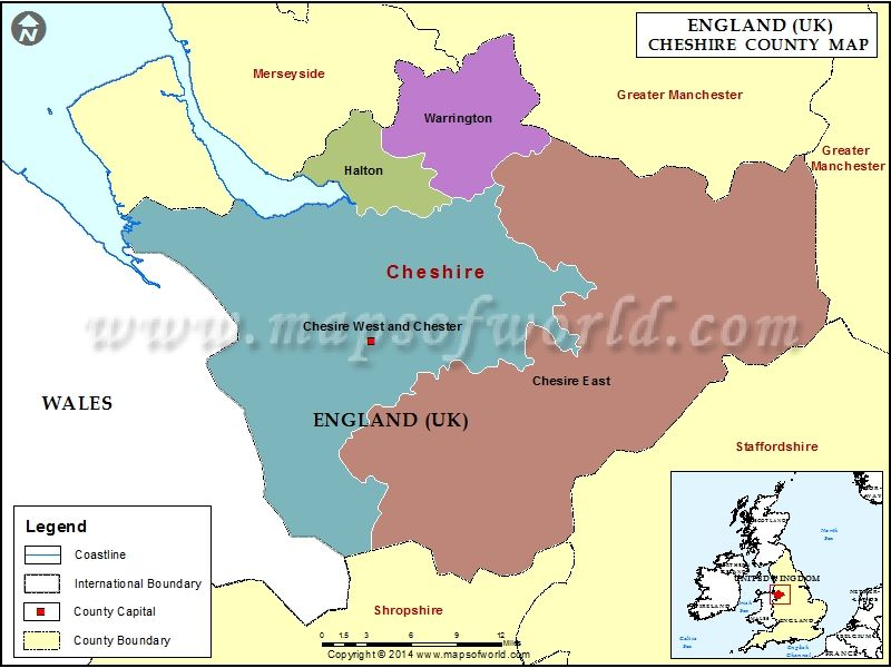 Map Of England Chester.Cheshire Map Family History County Map City Maps Map