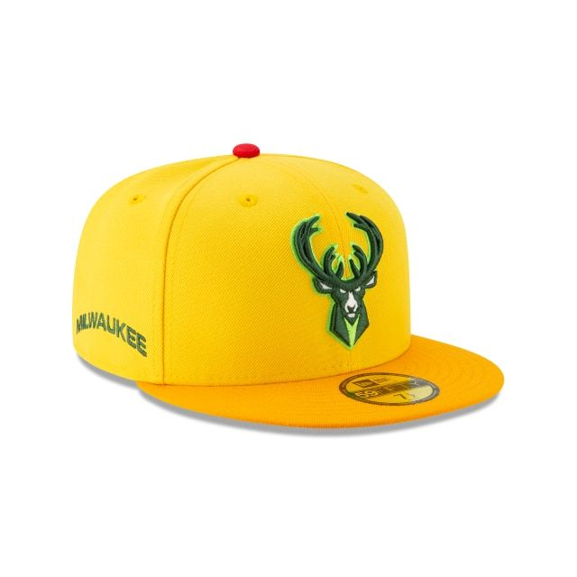 2a8694ff485976 MILWAUKEE BUCKS NBA AUTHENTICS CITY SERIES ALT 59FIFTY FITTED 3 quarter  right view