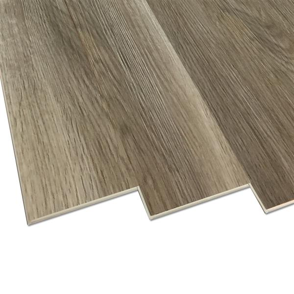 Duraclic Mystic Grey Oak 6 Mm Luxury Vinyl Plank Flooring 7 1 In W X 48 In L Lowe S Canada Vloeren