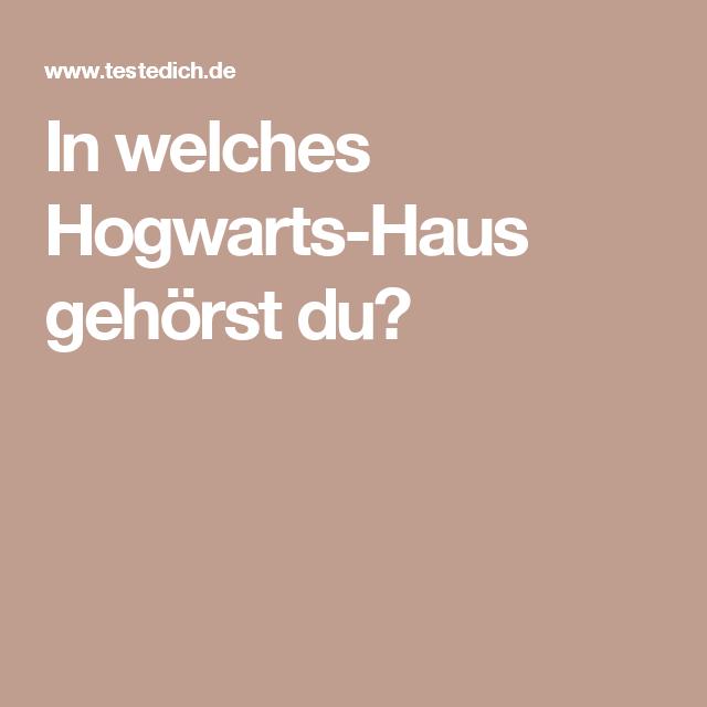 In Welches Hogwarts Haus Gehorst Du Hogwarts Hogwarts Hauser Der Sprechende Hut