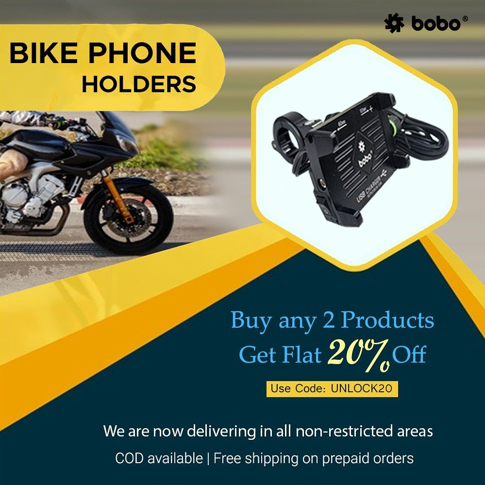BOBO Claw-Grip Aluminium Waterproof Bike Phone Holder ( with fast USB 3.0  Charger ) ➖➖➖➖➖➖➖➖➖➖➖➖ Key Features ✔️ Claw-Grip security. ✔️ Always connected. ✔️ Always Secured. ✔️ All tolls and spare parts included. ✔️ We provide 1 year  warranty. ✔️ Ideal for Maps and GPS Navigation. ➖➖➖➖➖➖➖➖➖➖➖➖ . . . . . #bikes #bikers #bikerider #riders #superbikes #biking #bikingendut #bikelife #bike #bikecare #bikeaccessories #biker #bikersfamily #bikepacking #bikelovers #loveforbike #tech #biketech #gears