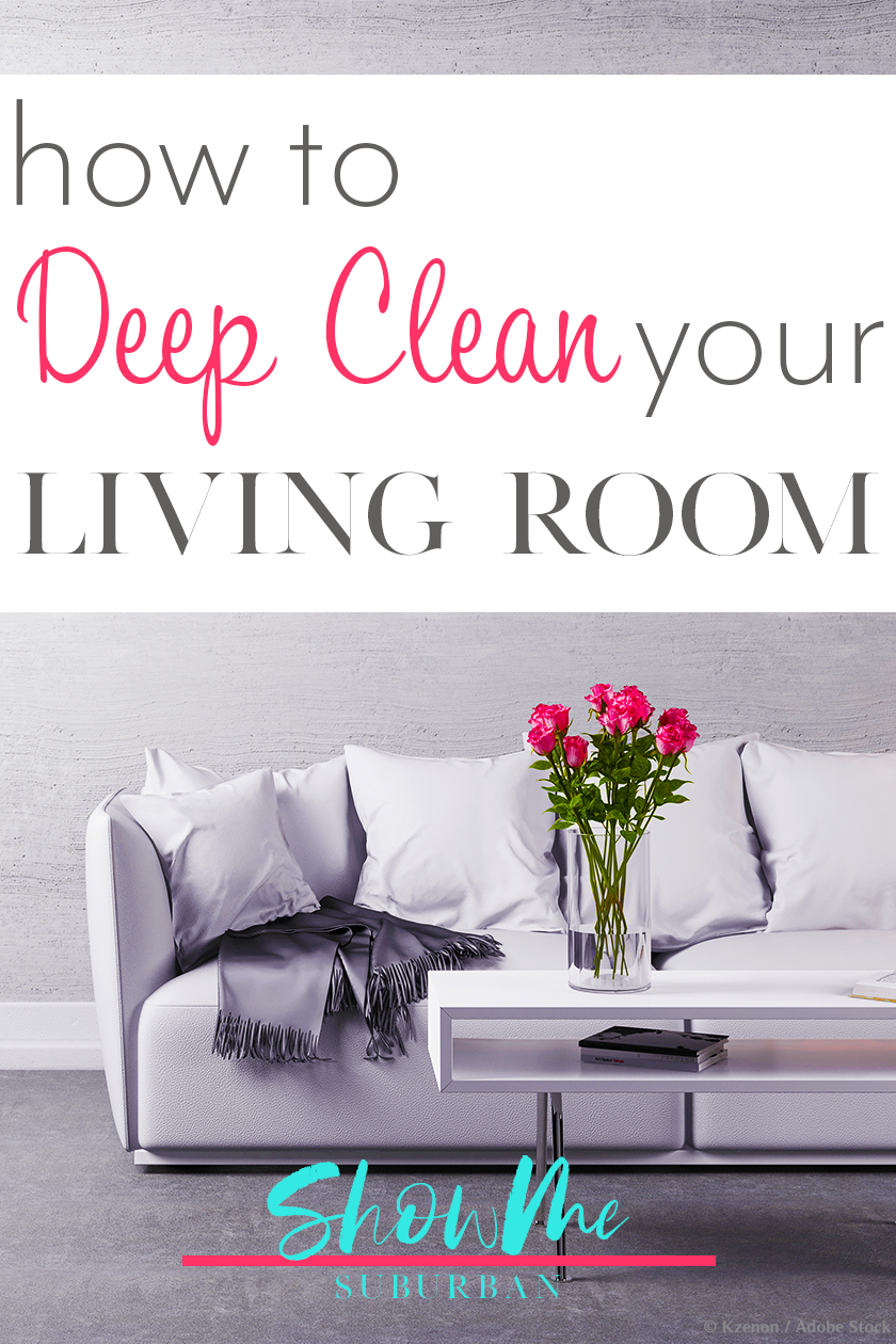 Bite-Sized Living Room Deep Cleaning Checklist images
