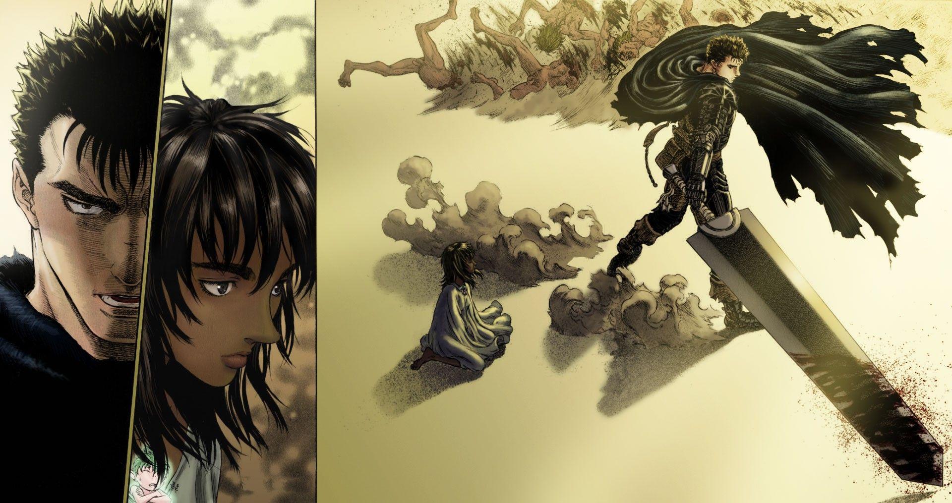 Berserk, Guts, Manga, Casca, Kentaro Miura Wallpapers HD