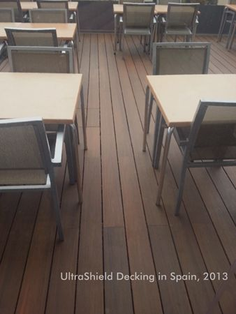 Newtechwood Composite Decking Project In Spain Please