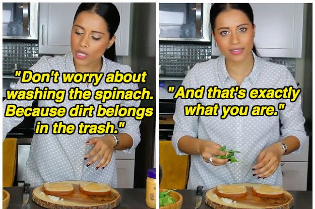Lilly Singh Savagely Shut Down All Her Sexist Commenters By Making A Sandwich A Little Differently