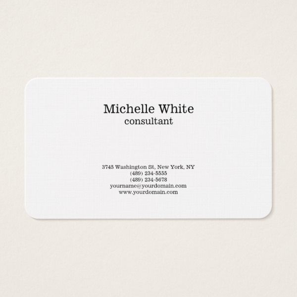Minimalist black white plain simple modern business card minimalist black white plain simple modern business card custom professional business cards for teachers and tutors teacher tutor businesscards colourmoves