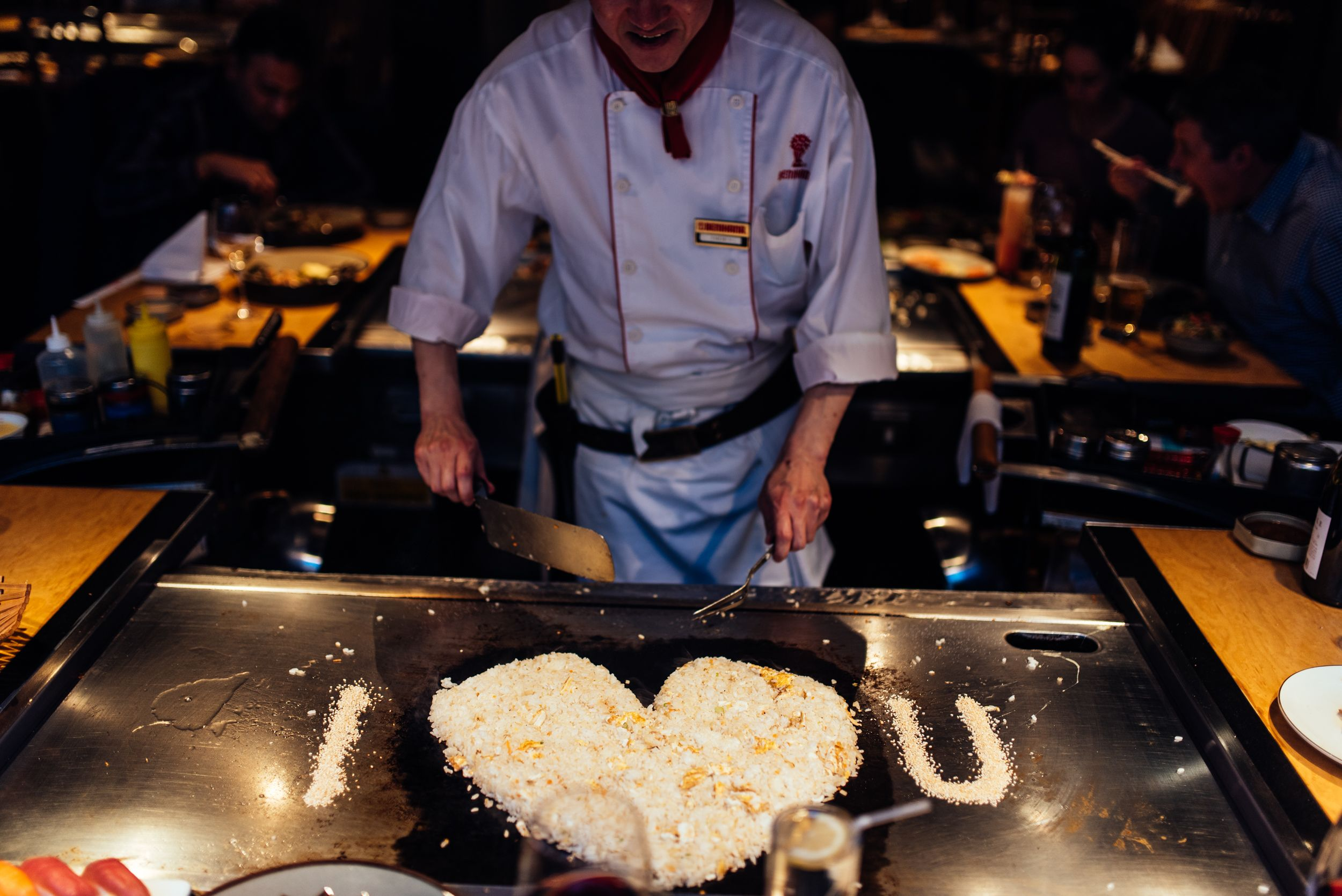 Benihana Anese Restaurant Steakhouse Sushi My Kitchen Is Count Total I Where They Cook In Front Of You
