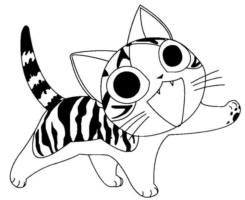 Chi une vie de chat chi pinterest vie chats et - Jeux de coloriage de chat ...