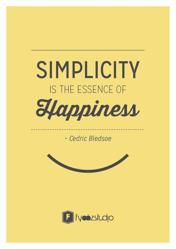 Another Quote On Simplicity But This Time Its On Our Take On Life