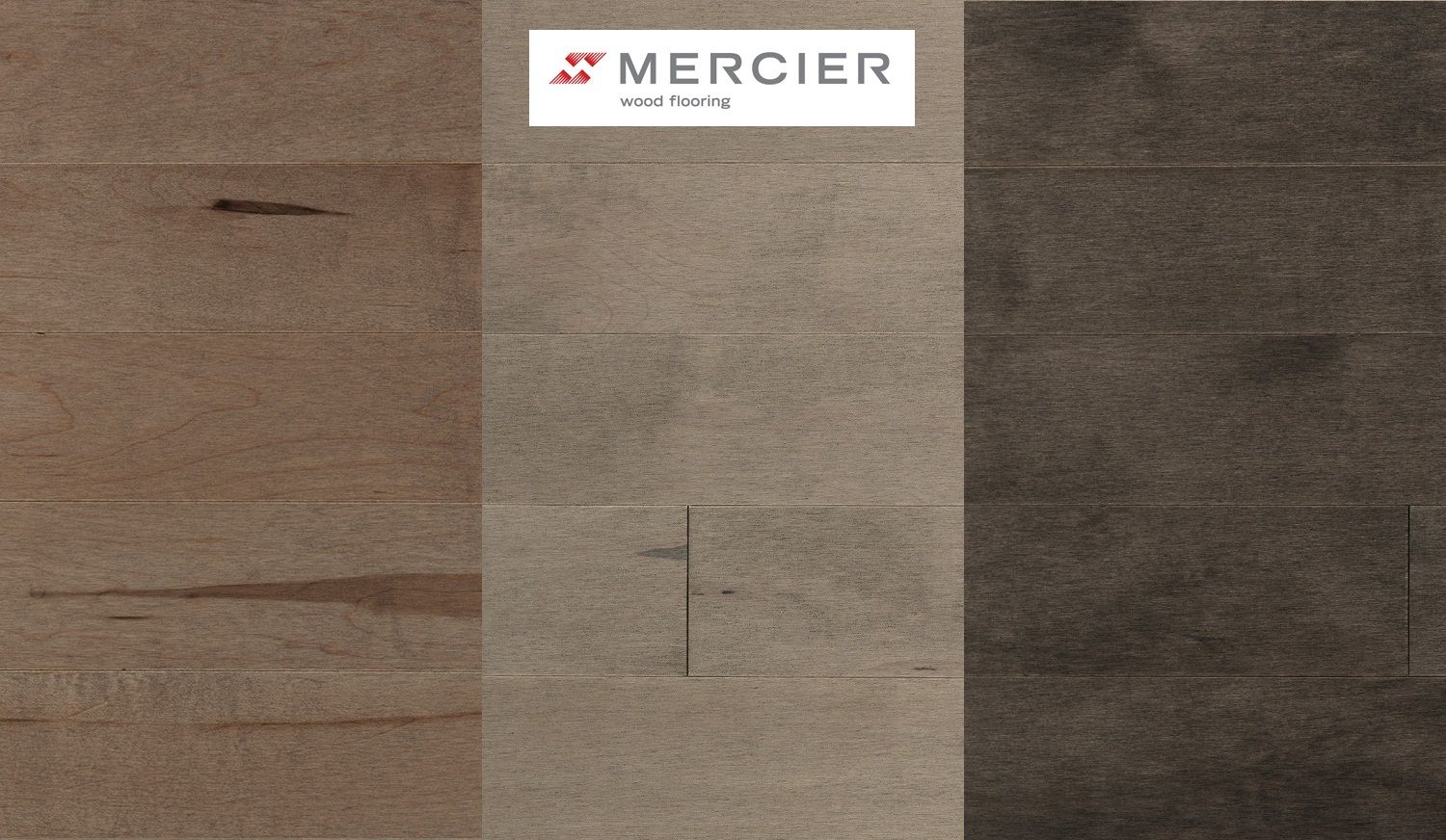 Mercier Wood Flooring - Hard Maple - Kalahari, Shadow and Stone - Mercier Wood Flooring - Hard Maple - Kalahari, Shadow And Stone