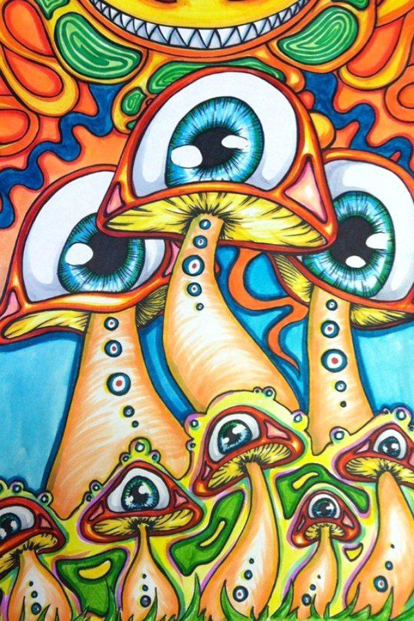 foto de Ih3U 1I9qPM(600×900) Dibujos psicodélicos Dibujos