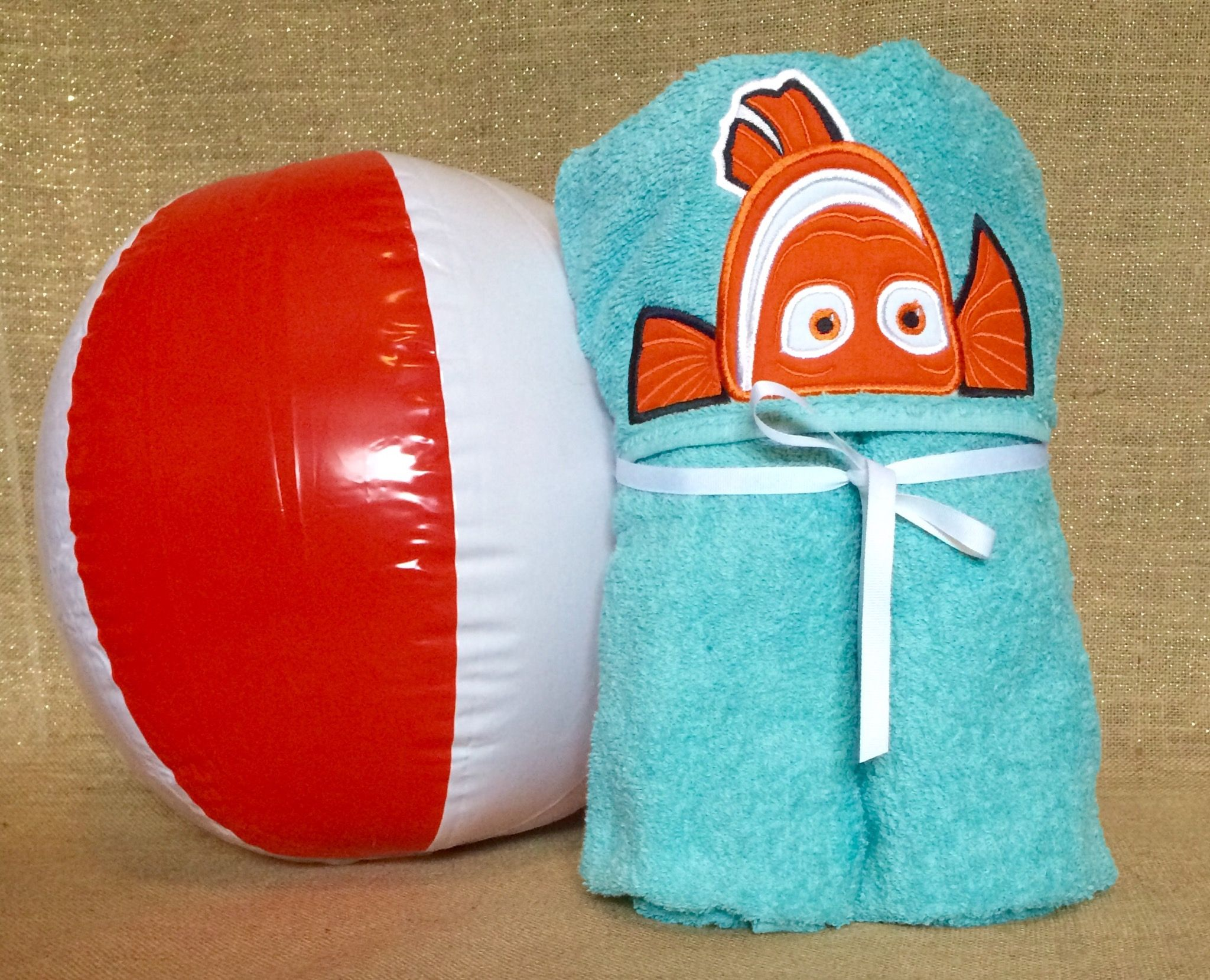 Nemo Hooded Towels